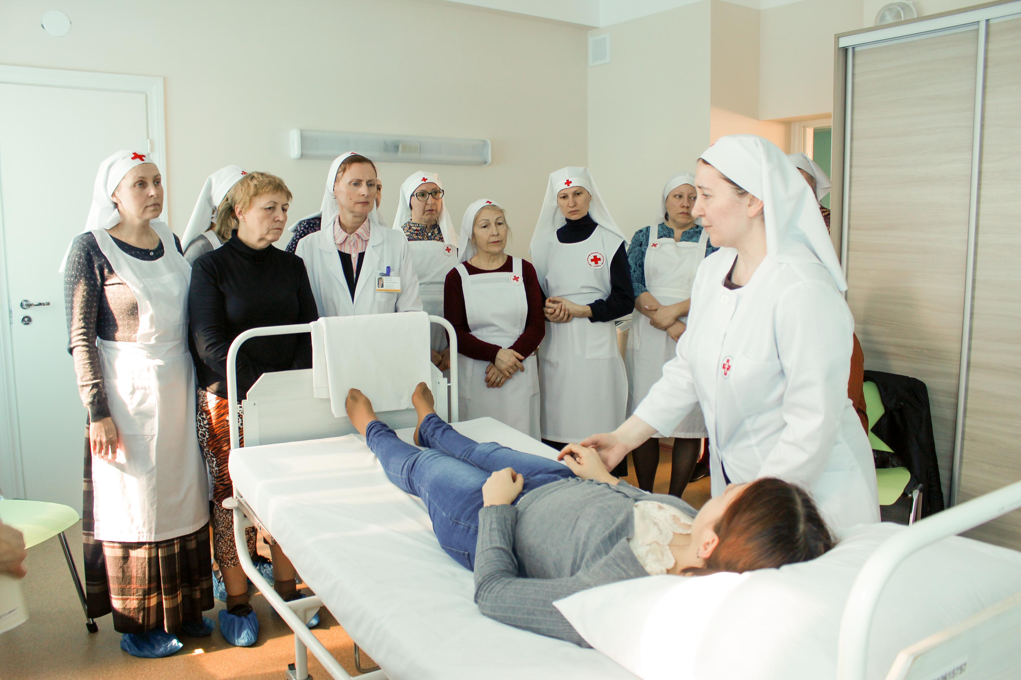 В Церкви начали серию выездных практических семинаров по уходу за тяжелобольными