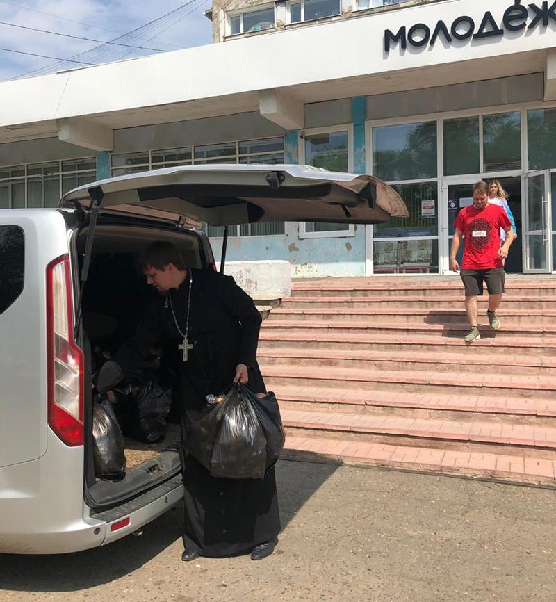 Церковь оказывает помощь пострадавшим от наводнения в Красноярском крае