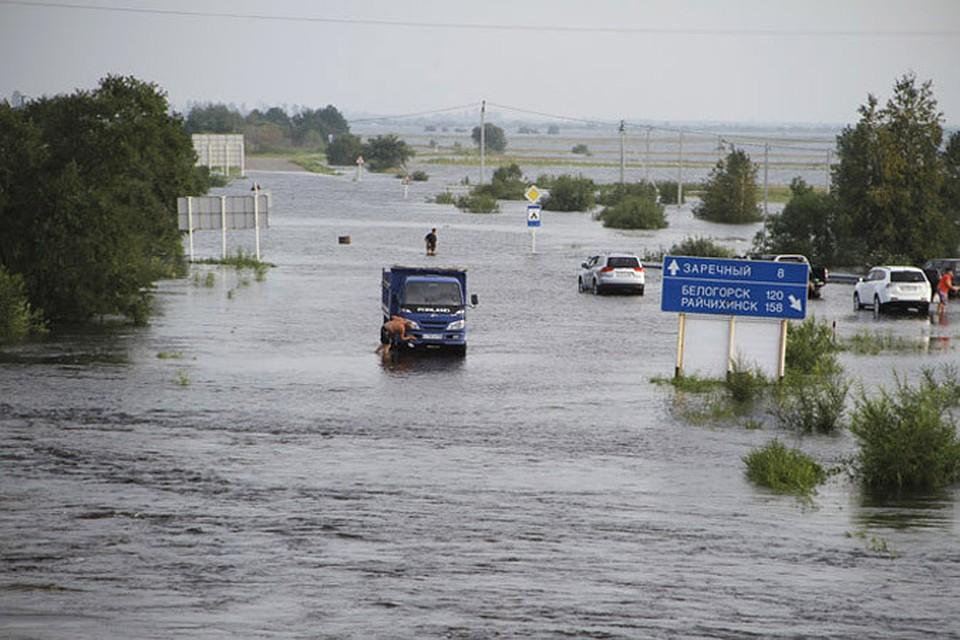 Русская Православная Церковь оказывает помощь пострадавшим в результате паводка в Приамурье