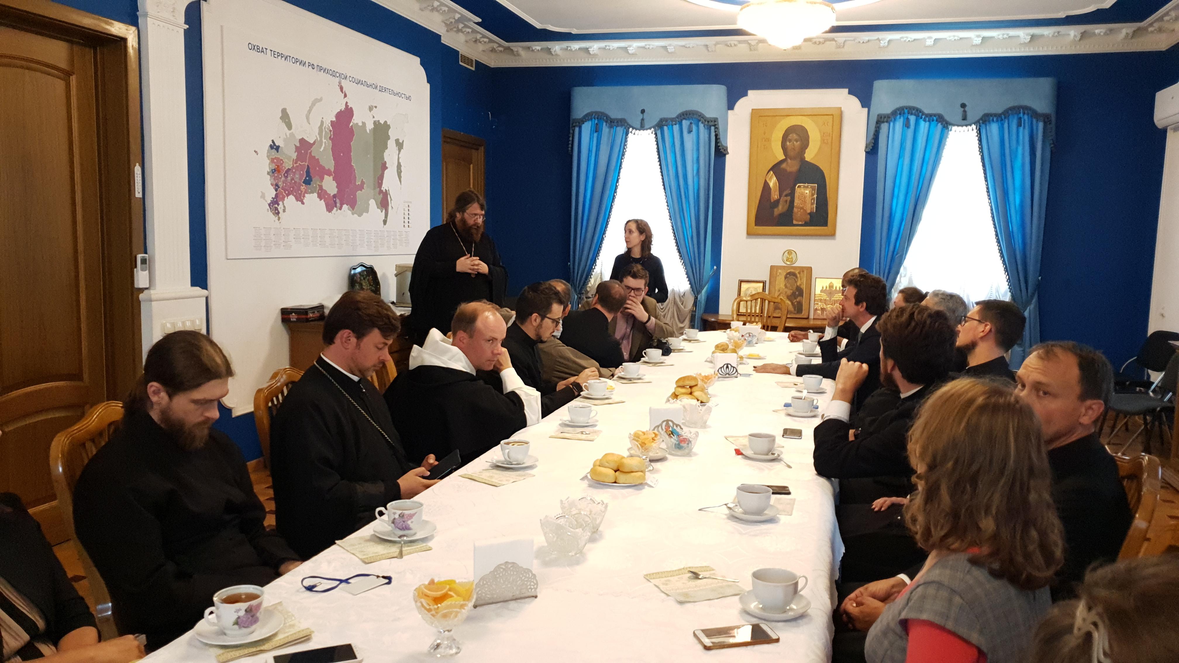 Делегация Римско-Католической Церкви посетила Синодальный отдел по благотворительности