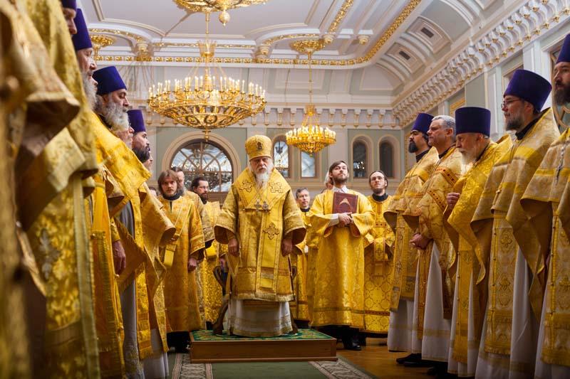 В ПСТГУ прошел годичный акт в день памяти святителя Тихона