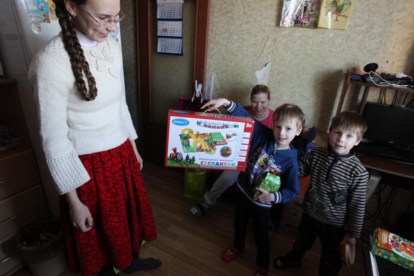 Православная служба помощи «Милосердие» начала акцию «Дари радость на Рождество»