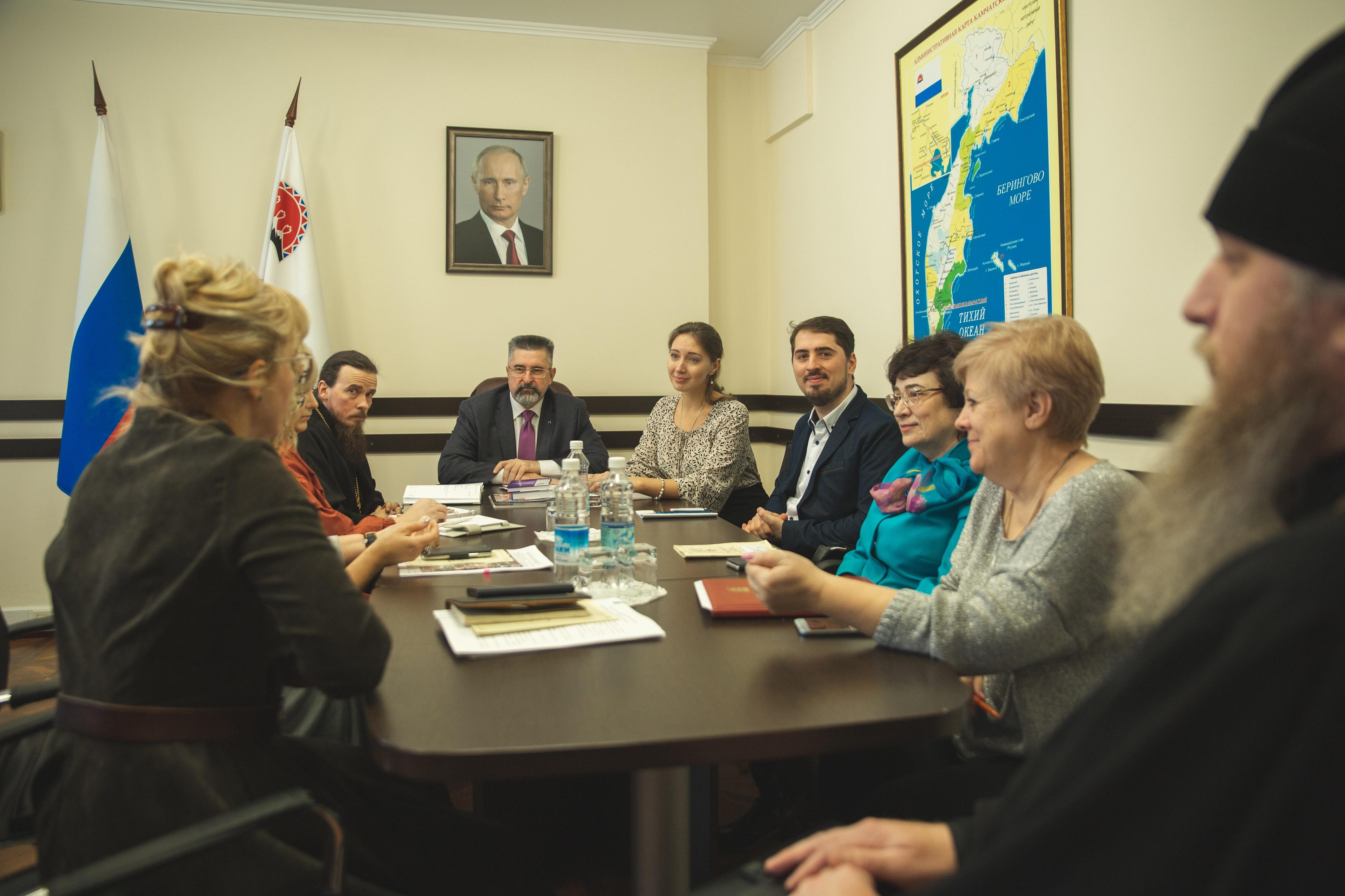 Представители Церкви и правительства Камчатки обсудили профилактику абортов в Камчатском крае