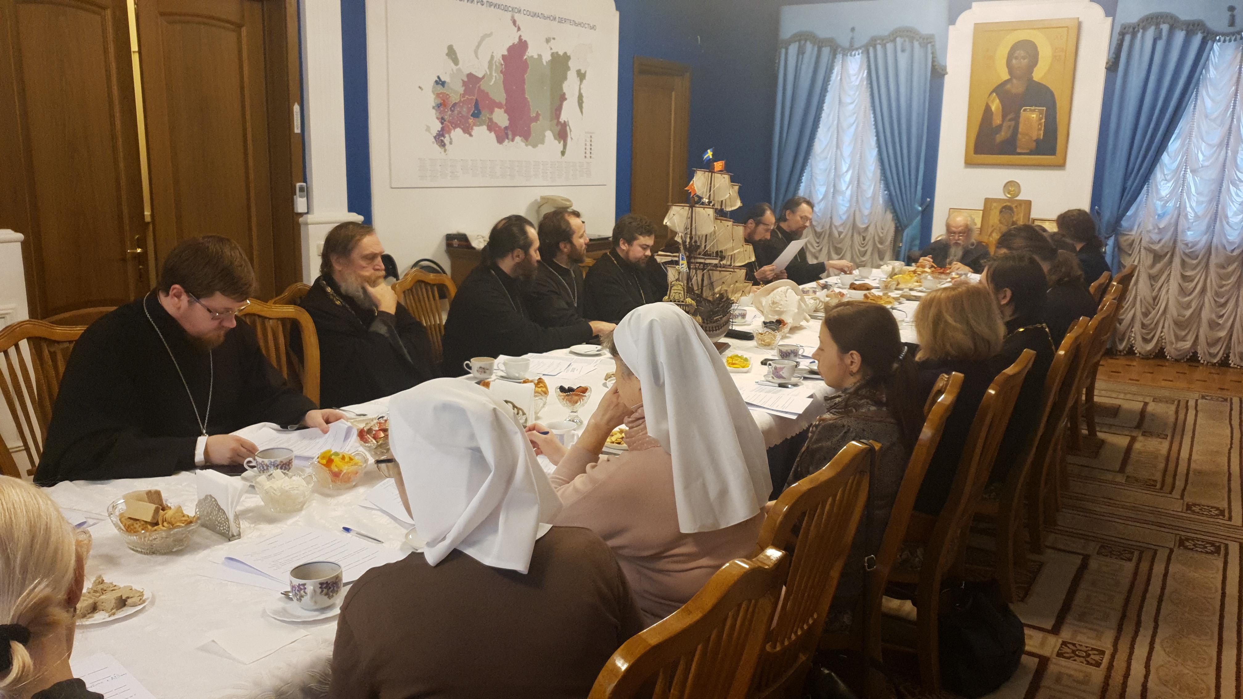 В Синодальном отделе по благотворительности прошло 13-е заседание Комиссии по больничному служению