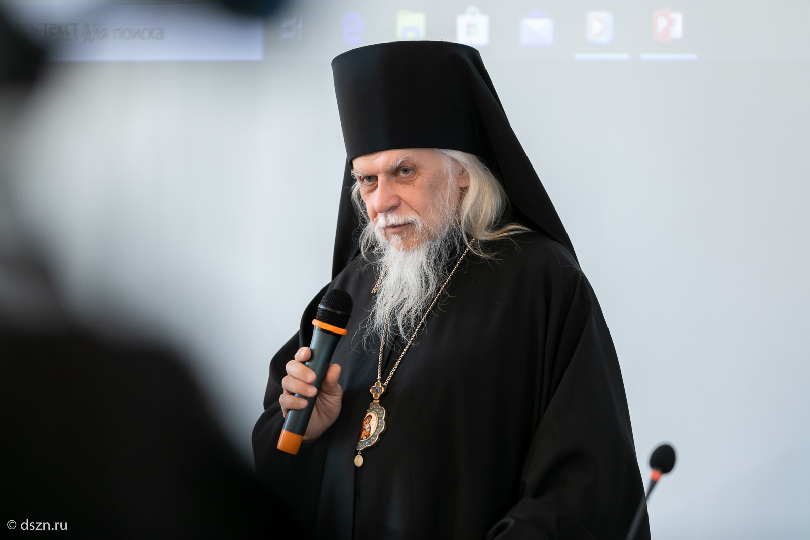 Епископ Пантелеимон. Фото: пресс-служба Департамента труда и социальной защиты населения Москвы