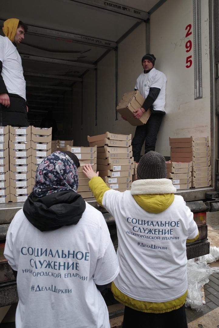 Социальный отдел Нижегородской епархии оказывает помощь людям в трудной ситуации