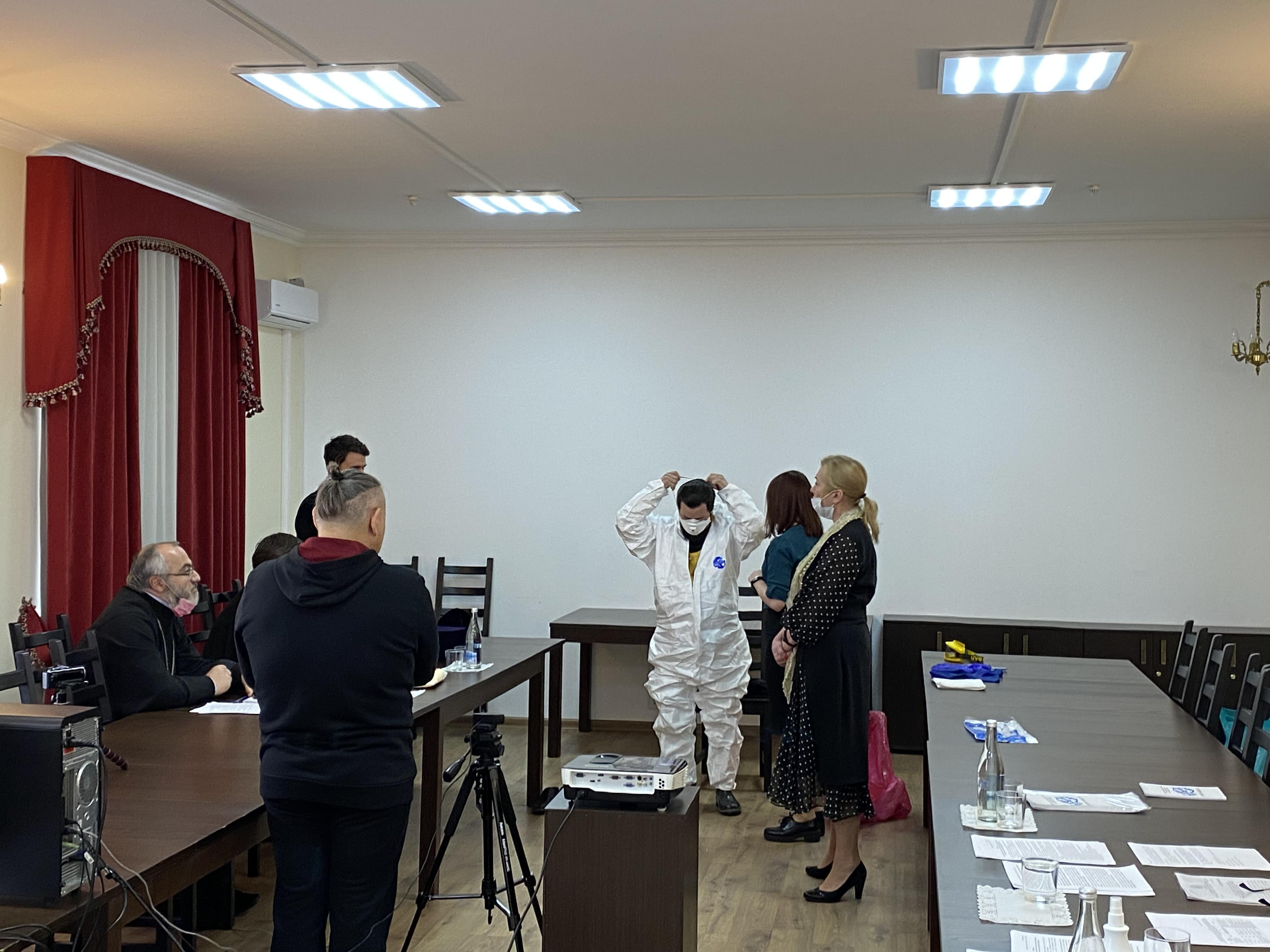 В Донской митрополии священники прошли инструктаж по инфекционной безопасности