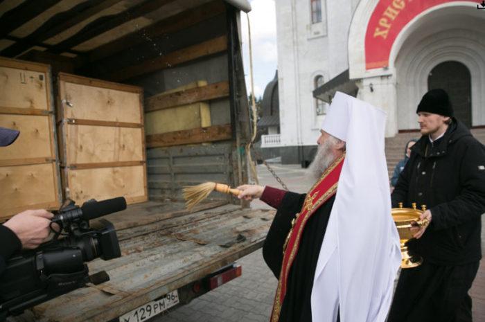 Ханты-Мансийская епархия передала больницам Югры 10 аппаратов ИВЛ