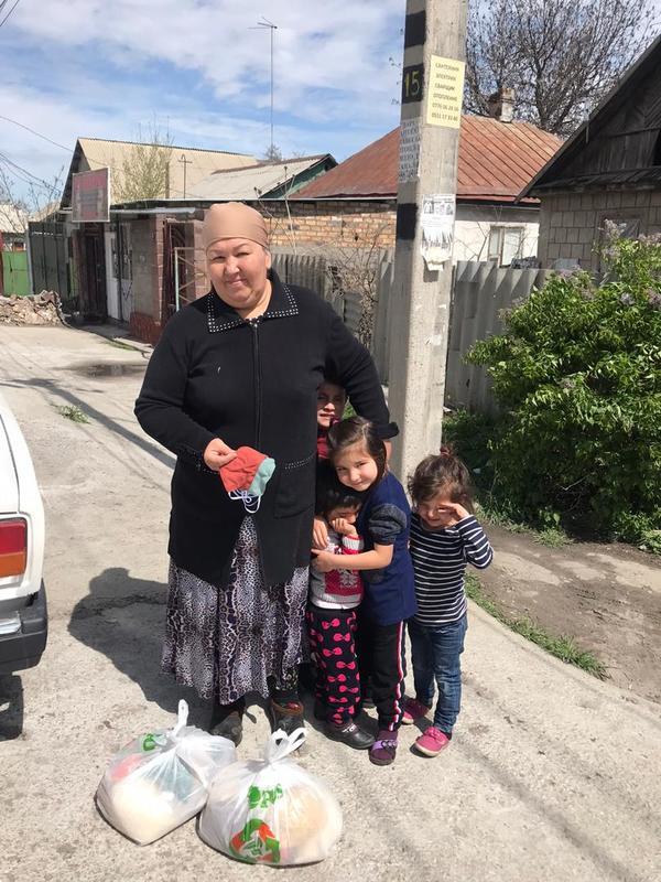ЧС в Киргизии: Бишкекская епархия обеспечила продуктами 1000 киргизских, узбекских и русских семей