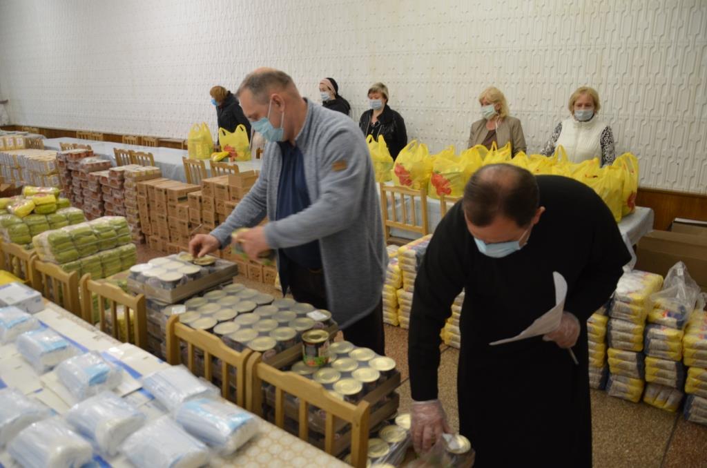 Симферопольская епархия собрала 5,6 тонн гуманитарной помощи