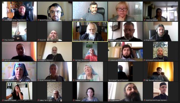Конференция по социальному служению для епархий Южного и Северо-Кавказского федеральных округов проходит в онлайн-формате