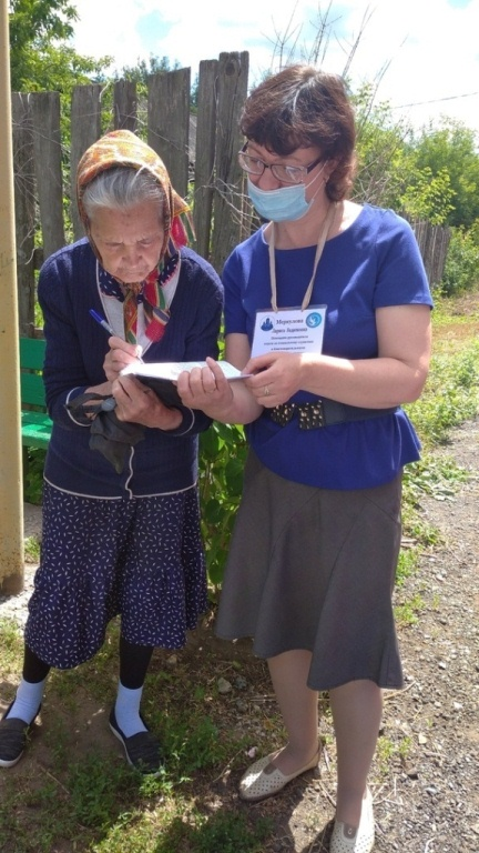 Православные добровольцы Сызрани передают продуктовую помощь пожилым