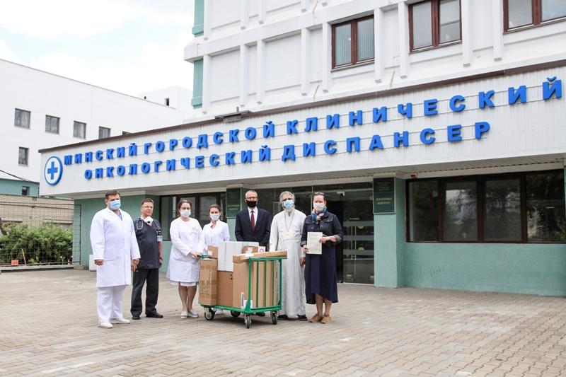 Передача дыхательного оборудования Минскому онкодиспансеру