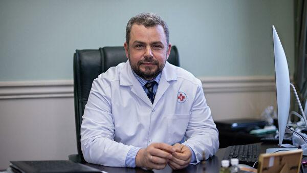 главврач Центральной клинической больницы им. святителя Алексия Алексей Заров