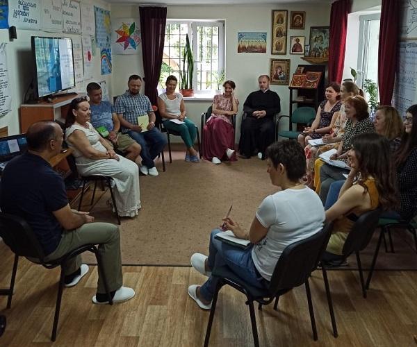 Обучающее занятие в женском реабилитационном центре «Вектор-Калининград»