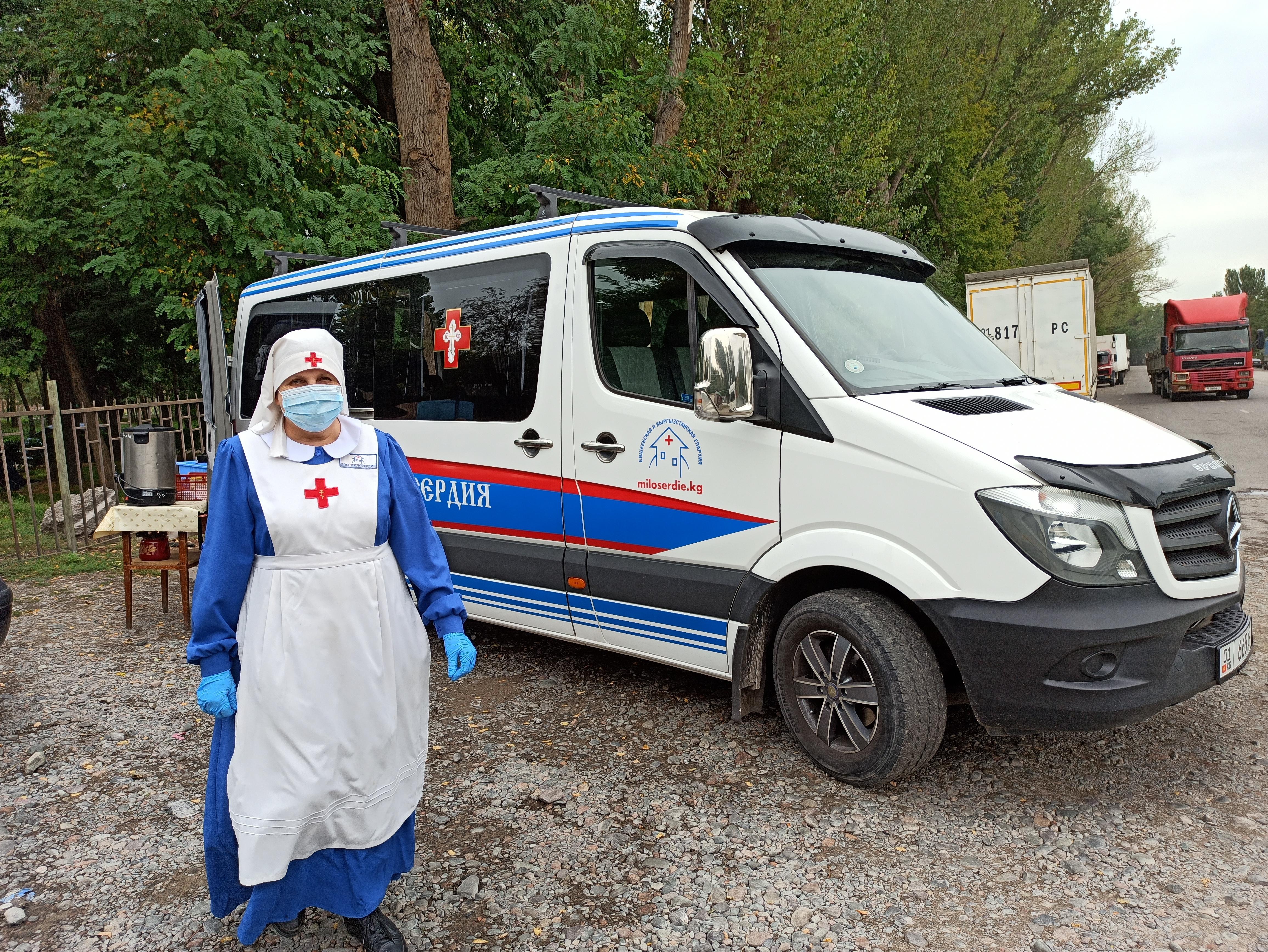 «Автобус милосердия» Бишкекской епархии