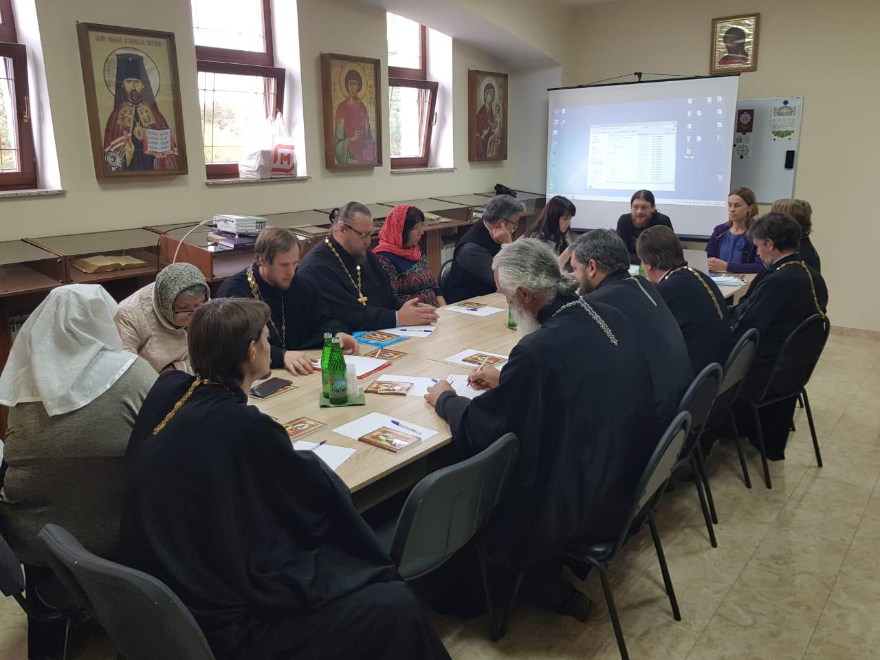 Обучающий семинар для представителей Пятигорской епархии в Кисловодске