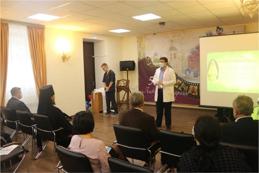 Семинар-практикум для сестер милосредия в Ливенской епархии