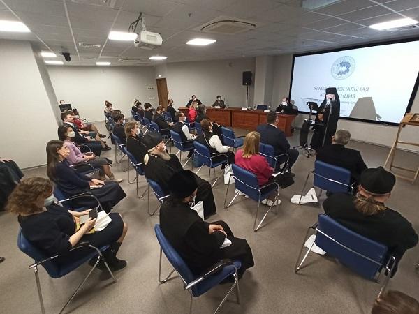 Пленарное заседание XI межрегиональной конференции по церковному социальному служению
