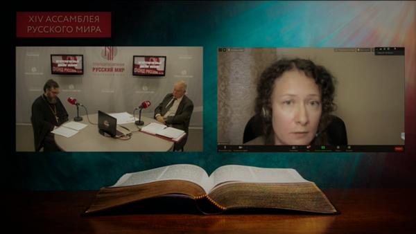 Наталья Шакуро, координатор Комиссии по больничному служению Московской епархии, на прямой линии с участниками круглого стола «Межрелигиозный диалог онлайн»
