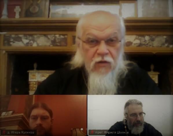 Епископ Пантелеимон обсудил помощь во время пандемии с представителями Белорусского Экзархата