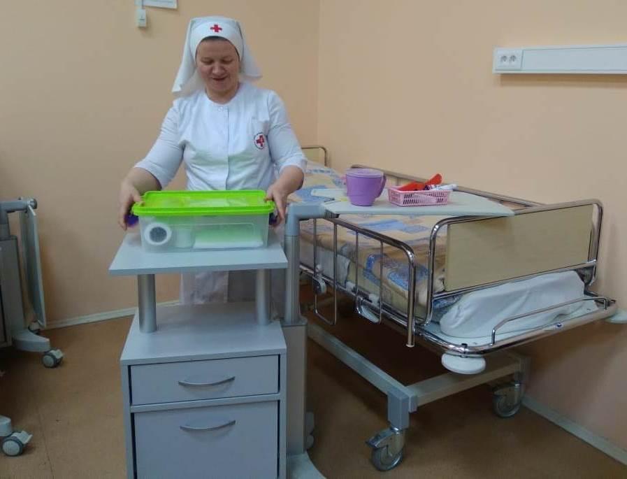 Занятия в Учебном центре Больницы Святителя Алексия