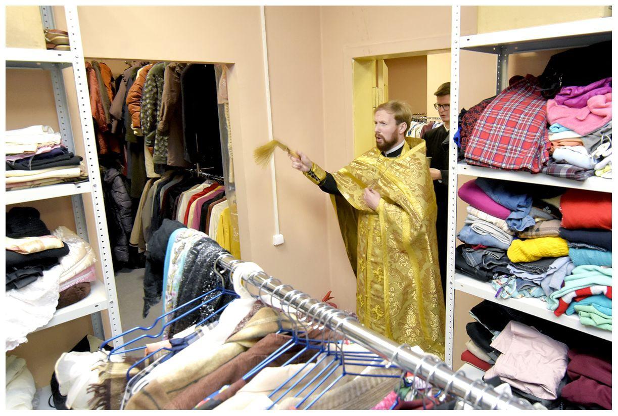 Освящение епархиального центр милосердия в Санкт-Петербурге