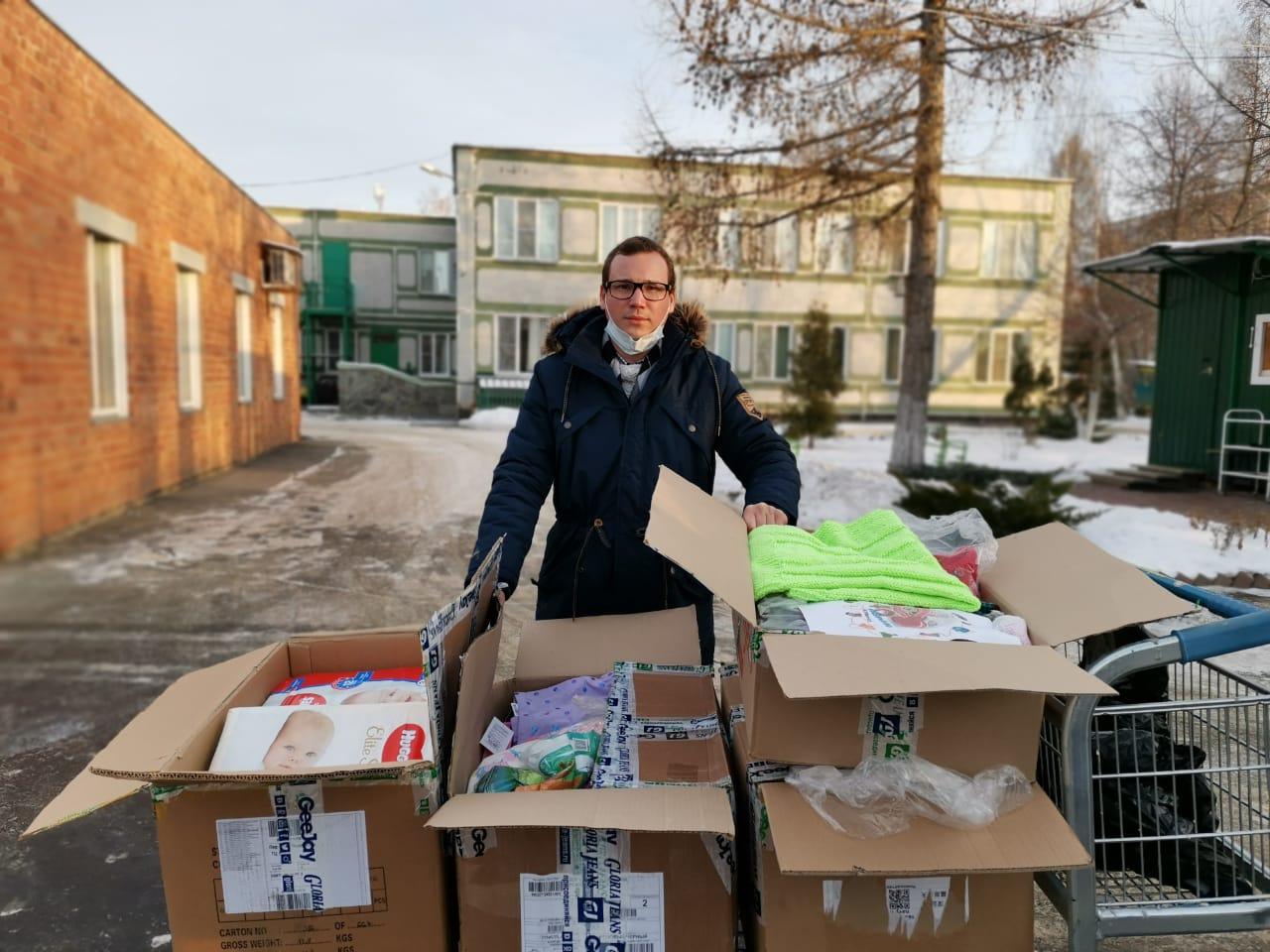 Гуманитарная помощь для дома ребенка в Челябинске