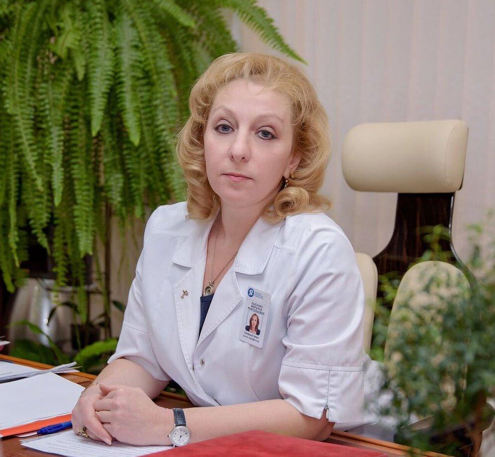 Главный врач 52-й больницы Москвы Марьяна Лысенко
