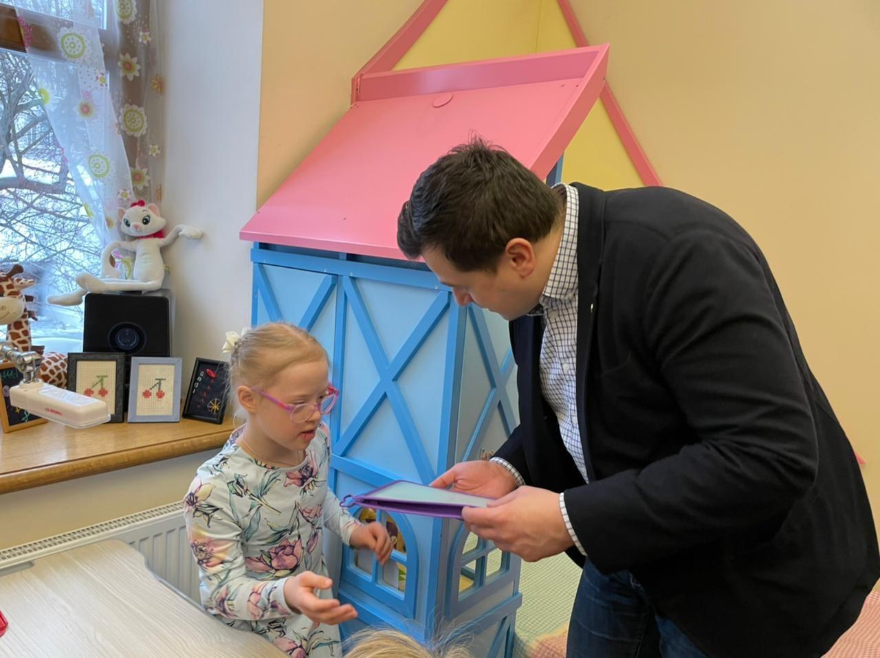 Победители конкурса «Лидеры России. Политика» в Елизаветинском детском доме