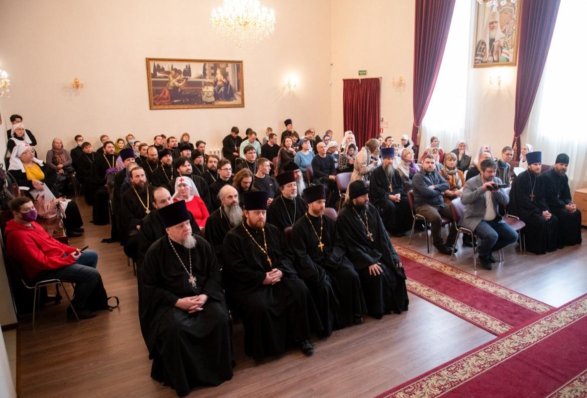 Участники курсов по организации социальной работы на приходе в Казани