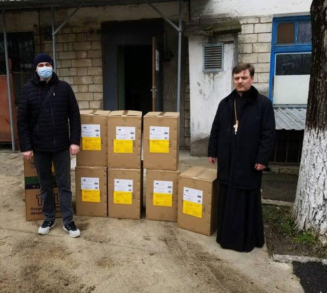 Тираспольская епархия передала медицинское оборудование в COVID-центр