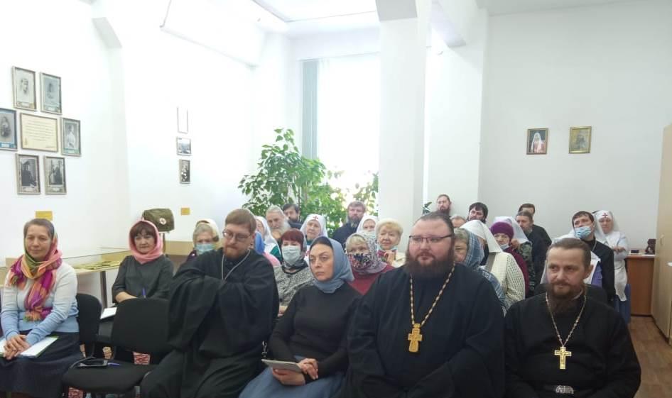 Участники обучающего семинара по социальному служению в Курганской епархии