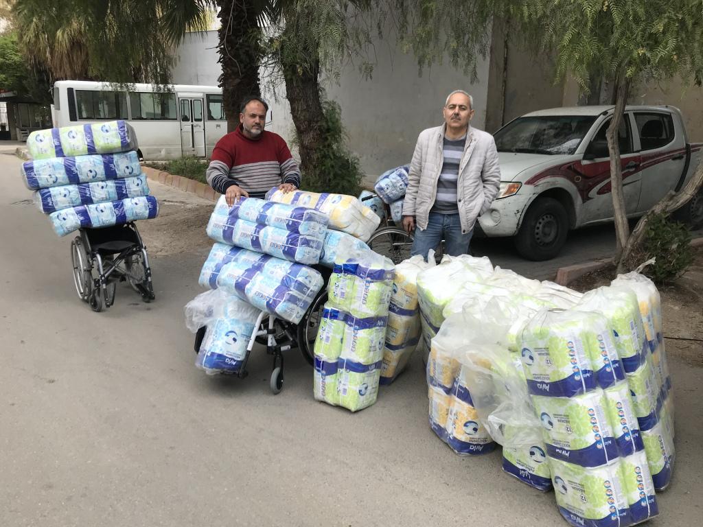 В Дамаске представитель Церкви передал гуманитарную помощь детям с инвалидностью