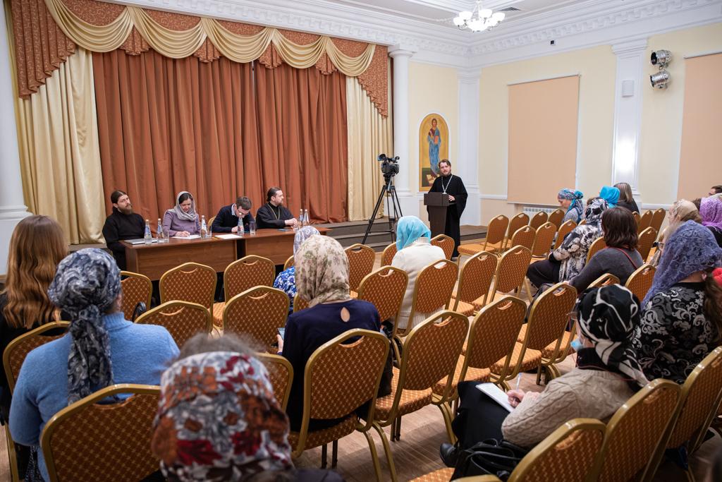 Участники обучающего семинара по социальному служению в Саратовской епархии