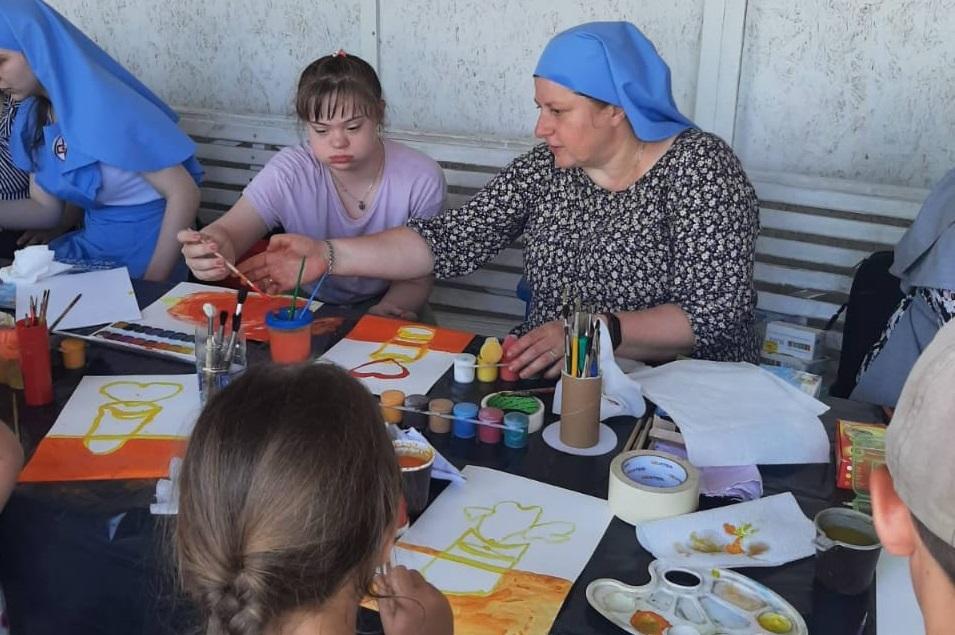 Первая встреча православно-инклюзивного центра «Солнечный круг» в Ульяновске
