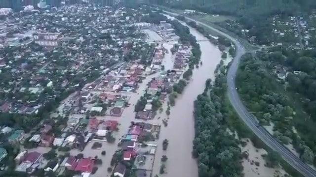В зоне бедствия