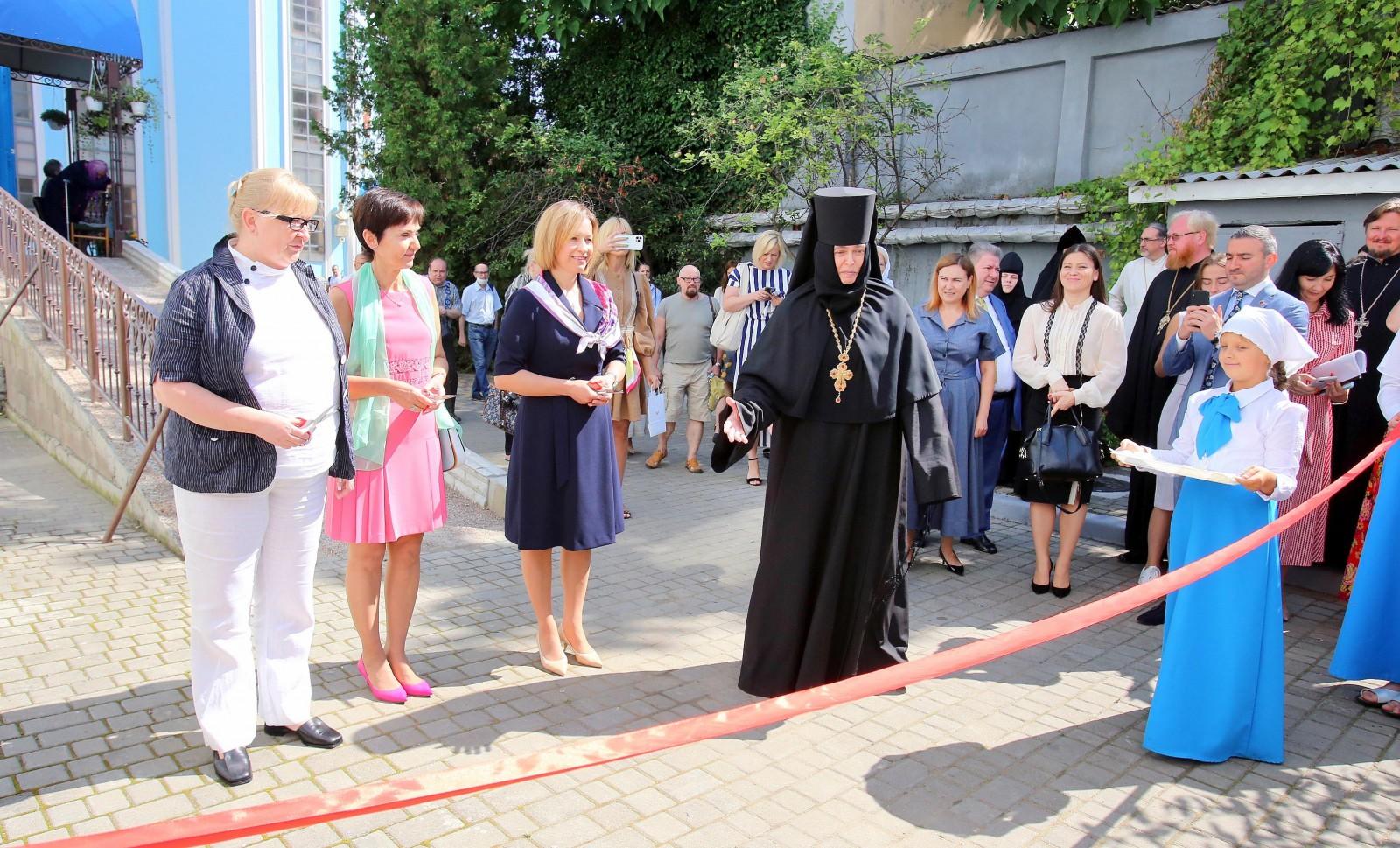 Открытие приюта для женщин при Доме милосердия Архангело-Михайловского женского монастыря Одессы