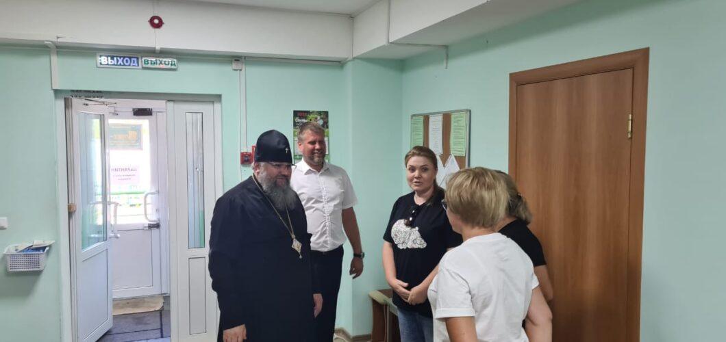 Архиепископ Южно-Сахалинский и Курильский Никанор посещает социальные учреждения епархии