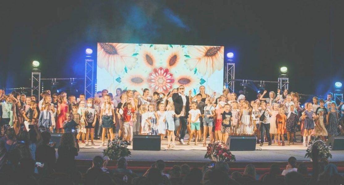Участники VI Всеукраинского благотворительного фестиваля «Божьи дети»