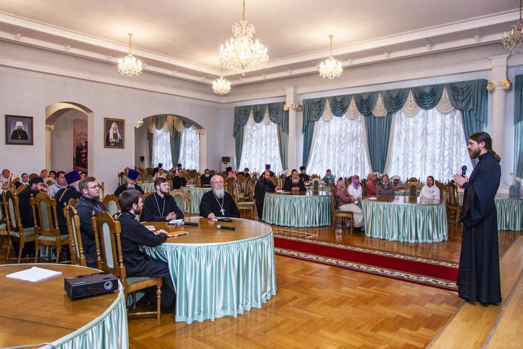 Обучающий семинар по социальному служению в Тамбовской епархии