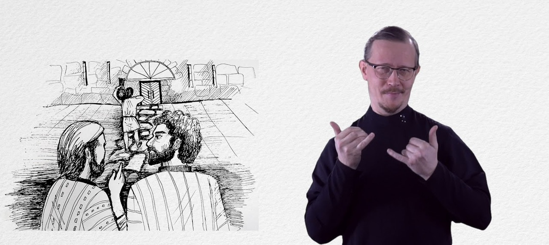 Евангелие от Марка перевели на русский жестовый язык