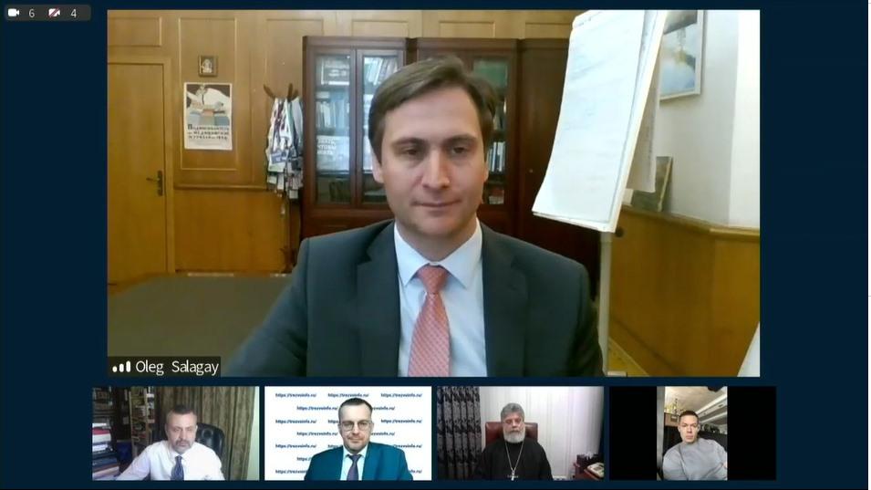 Заместитель министра здравоохранения Российской Федерации Олег Салагай