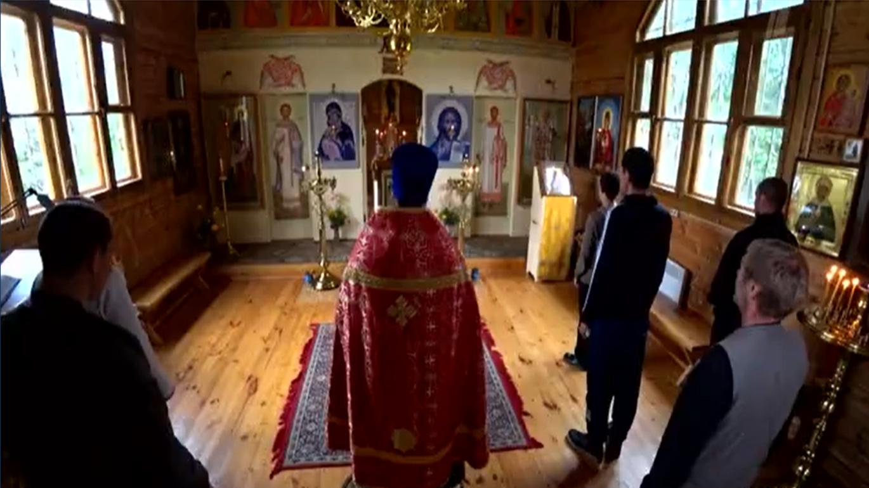 Молебен об исцелении от недуга пьянства в храме села Горки Владимирской области