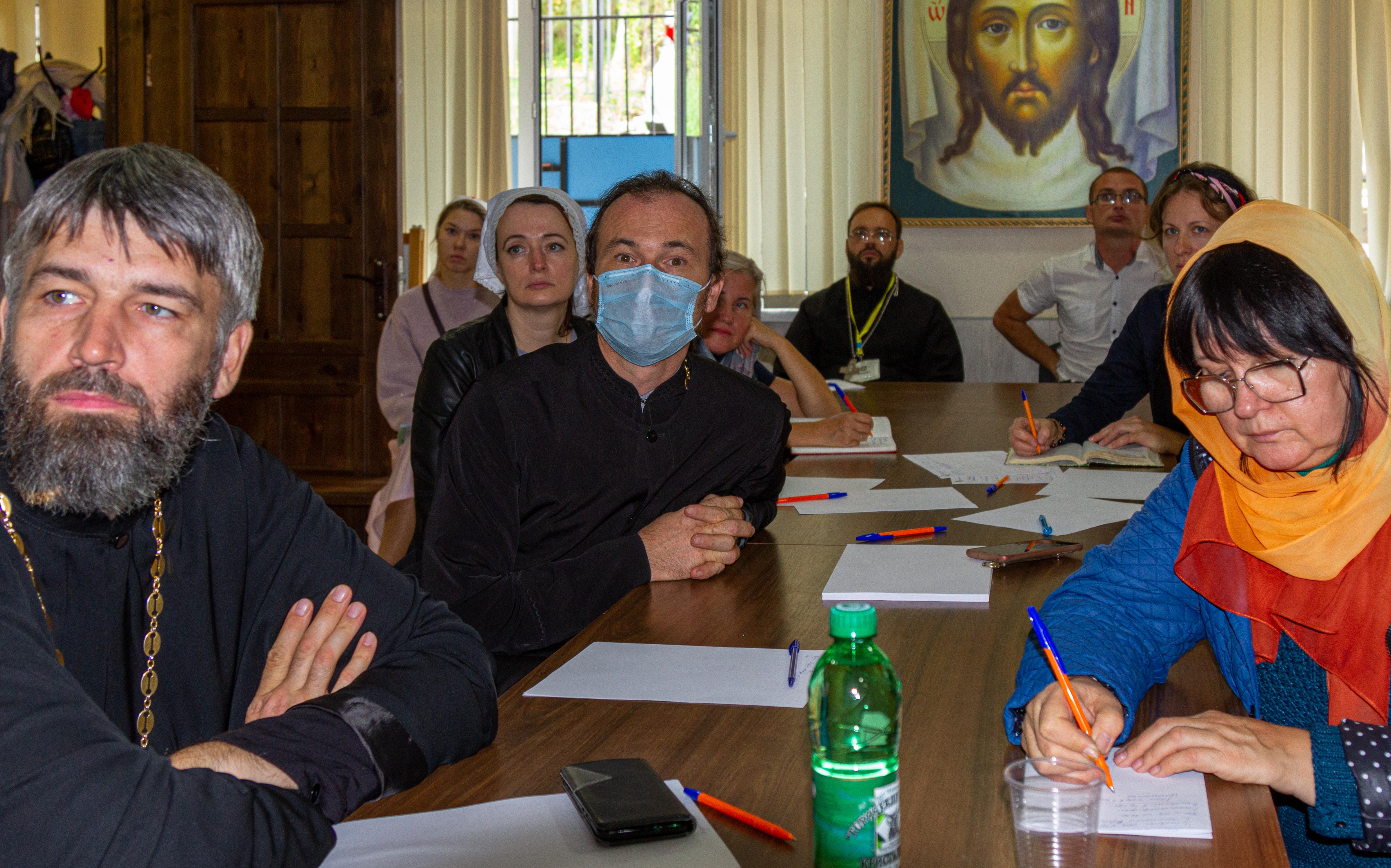 Участники семинара в Сочинской епархии
