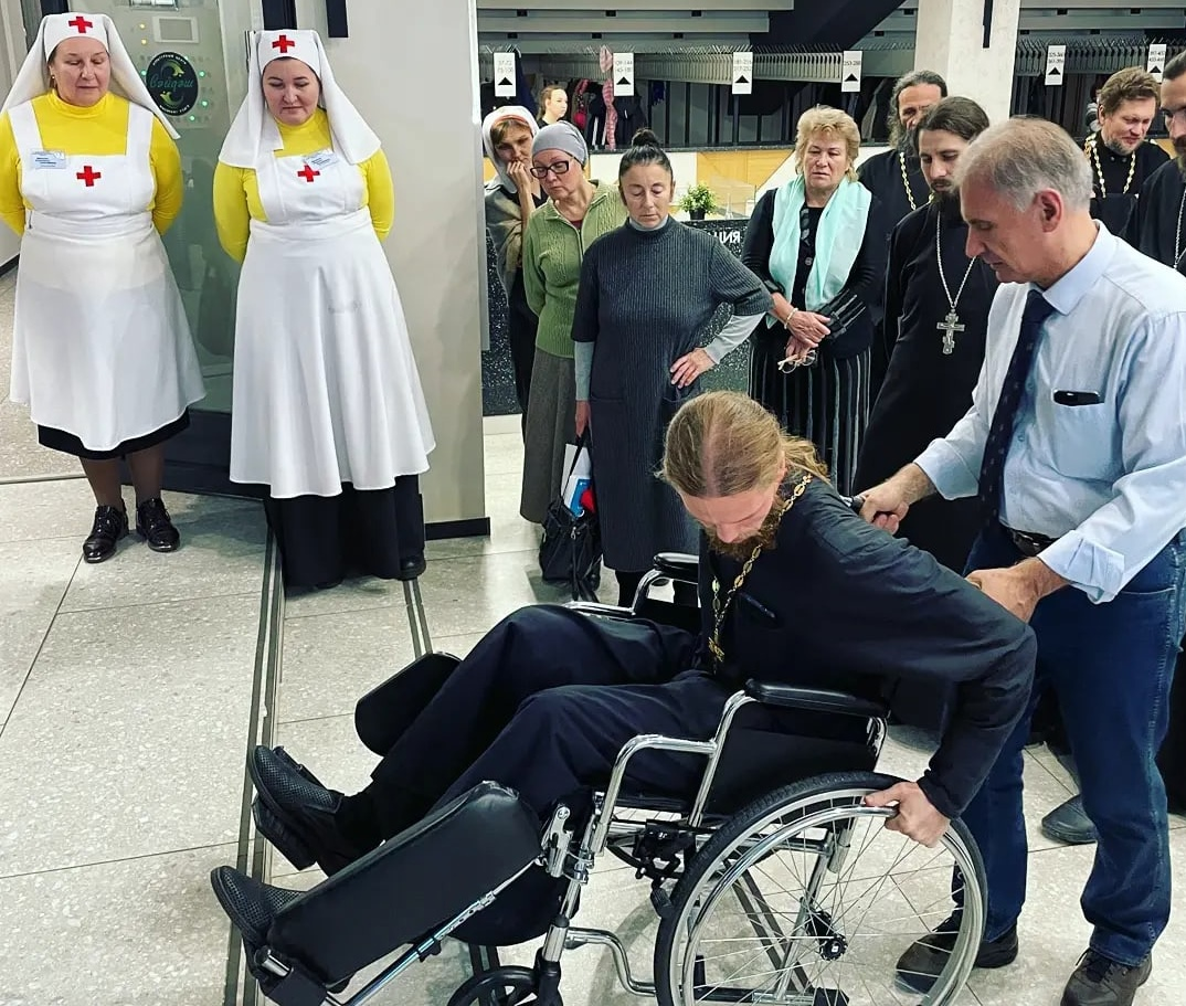 Тренинг по оказанию ситуационной помощи маломобильным людям в Казанской епархии