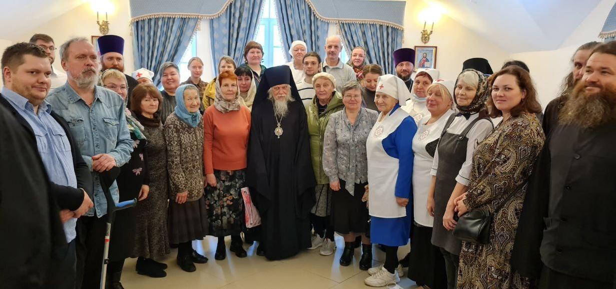 Встреча епископа Пантелеимона с духовенством и мирянами Гатчинской епархии